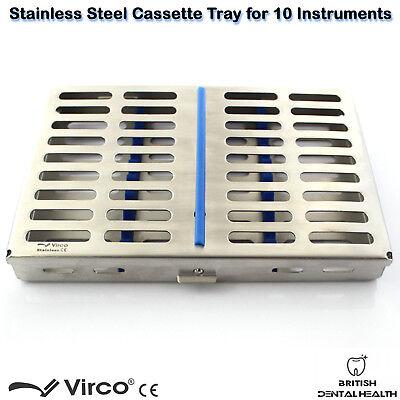 Stérilisation Cassette Support Plateau Support 10 Instruments Chirurgie Dentaire 3