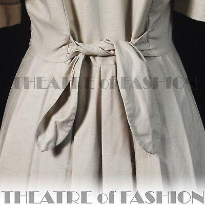 DRESS  LACE 40s 30s WEDDING VINTAGE LAURA ASHLEY 14 16 GATSBY VICTORIAN 50s VAMP 10