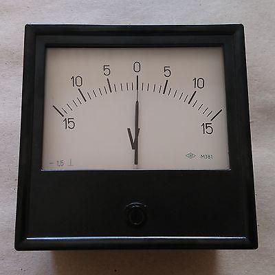 1.5 Accuracy DC Analog Volt Panel Meter M381 Voltmeter Gauge 120*120mm Any Range 2