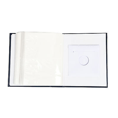 "6.99Traditional 6"" X 4""  Photo Album with 200 Pockets Black, Blue or Burgundy 7"