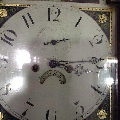 Antique Oak Grandfather Clock 7