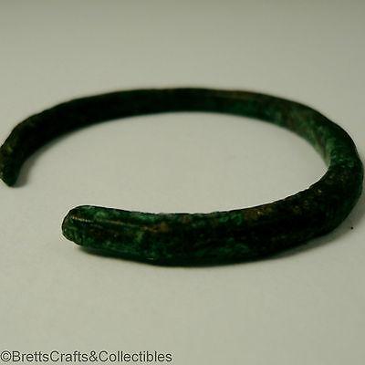 Roman Empire 1st - 3rd c. AD - 37mm Dia - Bronze Infants/Child's Bracelet