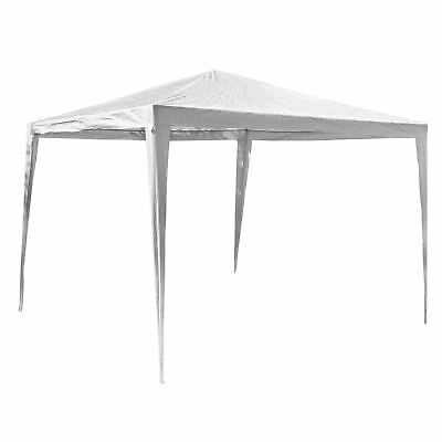 3x3M Gazebo Garden Tent Canopy Party Marquee Outdoor Patio Shelter - White 2