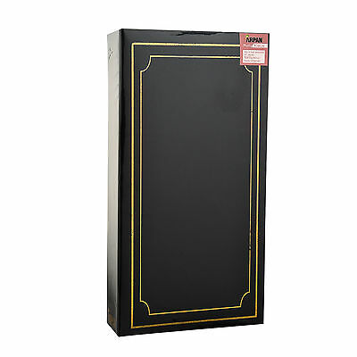 ARPAN Plain 6' X 4' Photo Album with 300 Pockets Black, Blue or Burgundy - 3