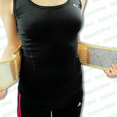 Tourmaline Self Heating 20 Magnetic Therapy Backache Lower Back Support Belt