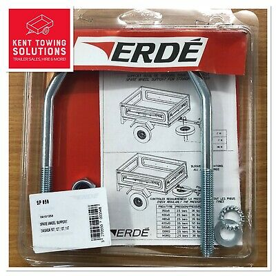 New Spare Wheel Support Carrier for Erde Trailer 102, 122, 142 and 143 - SP050 2