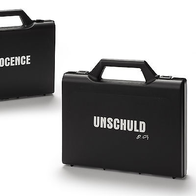 UNSCHULD Art-Hotel-Seife (INNOCENCE Soap), 32 Stk./pc. Koffer Suitcase, O. Hörl