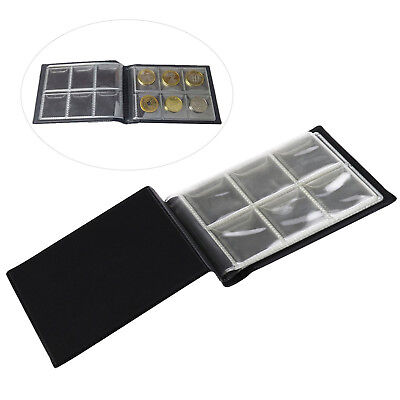 60 Collecting Collection Coin Penny Money Storage Album Book Holder Case LD APE 9