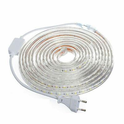 TIRA DE LED MANGUERA LUZ 220V INTERIOR IP65 ALTA ILUMINACION (120 Luces/Metro) 4