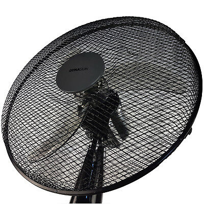 Ventilateur sur Pied Télécommande 50W Oscillant DynaSun RD40BC Noir LCD LED Pro 8