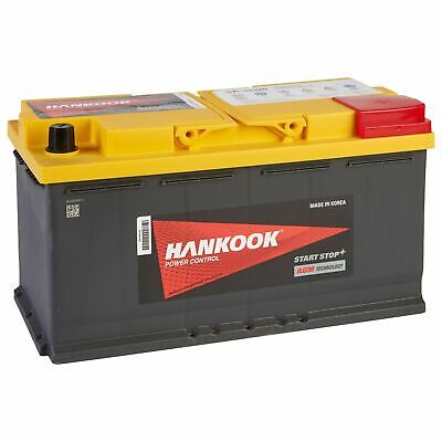 Hankook 12V 95Ah AGM Start Stop Batterie de Démarrage Pour Voiture 352x174x190mm 2