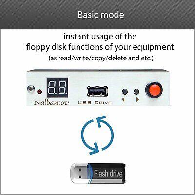 !USB Floppy Drive Emulator N-Drive Industrial for Arburg Selogica Control System 7