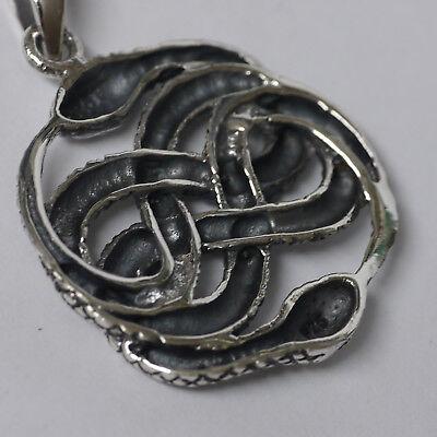 schön AURYN 3,7cm Symbol f.d.Unendlichkeit  925 Silber  Mittelalter Erneuerung