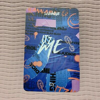 ITZY Official PHOTOCARD Only 2nd Mini Album IT'z ME Photo Card Select Option 7