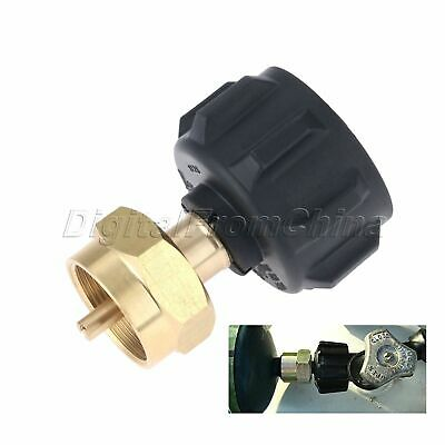 Useful Gas Propane Refill Adapter 1 LB Cylinder Connection QCC1 Regulator Valve 3
