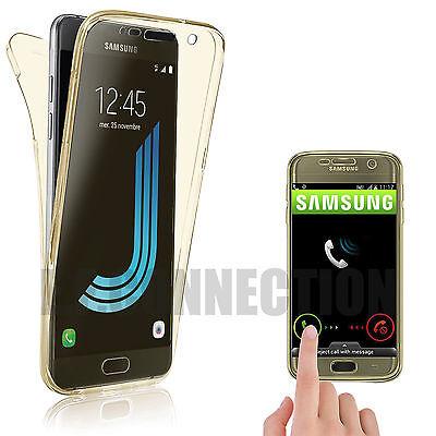Coque Housse 360 Silicone Integral Pour Samsung S8/s9/s5/s6/s7/edge J3/j5 A5/a8 7