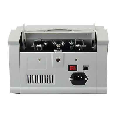 USA Money Bill Currency Counter Counting Machine Counterfeit Detector UV MG Cash 3