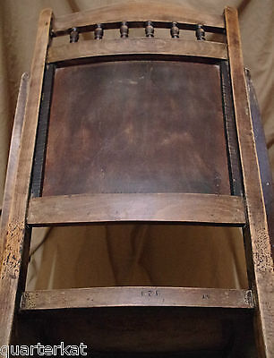 Antique Antiques Chairs Victorian Original Wood Wooden Chair Home Furniture 8