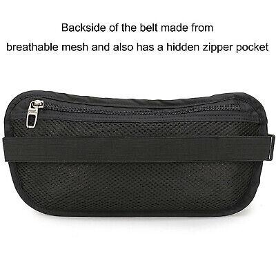 Slim Design Bumbag RFID Running Belt Water-proof Adjustable Waist Bag Travelling 10