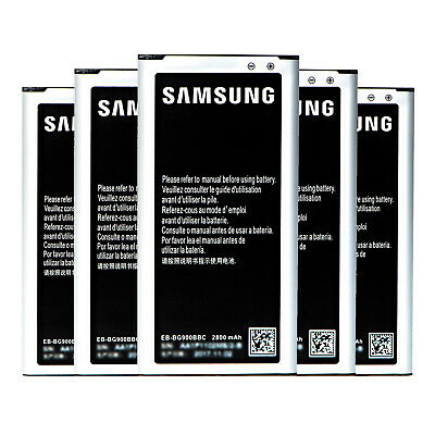 New OEM Battery Replacement for Genuine Original Samsung Galaxy S2 S3 S4 S5 AU 12