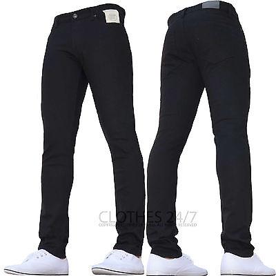 Bnwt New Boys Skinny Jeans Stretch Slim Pant Retro Jeans 24 To 29 Age 7-14 2