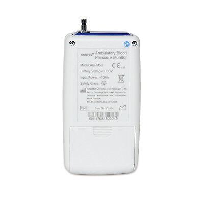 24Hr Ambulatory Digital Blood Pressure Monitor,Holter NIBP CONTEC ABPM+3 cuff,CE 9