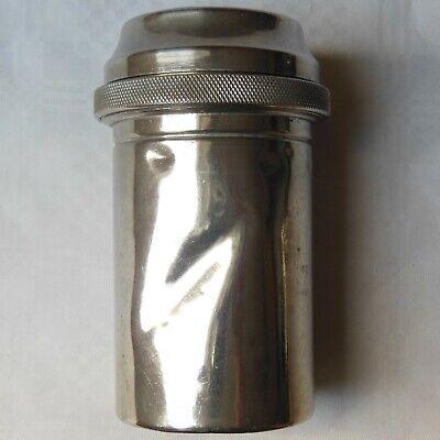 DREI-PFEIL MARKE - MAXIMUS antike Box für Spritzen und Nadeln Sterilisator WW2 11
