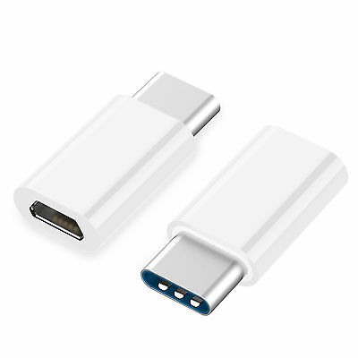 5pk USB 3.1 Type C Male to Micro USB Female Adapter Converter Connector USB-C 3
