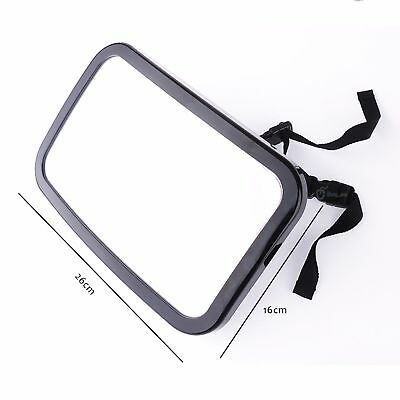 New Large Wide View Car Baby Child Inside Mirror View Rear Ward Back Safety UK 2