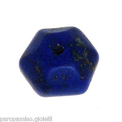 Lapis Lazuli Chinese Bead.   (0310) 9