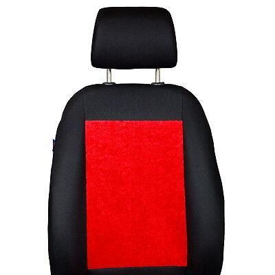 Housses Avant Couleur Premium Noir Rouge Velours Zakschneider Housses DE SI/ÈGE pour Grand Vitara