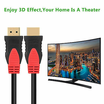 Premium 15 FT HDMI 1.4 Cable with Ethernet 24K Gold Plated 3