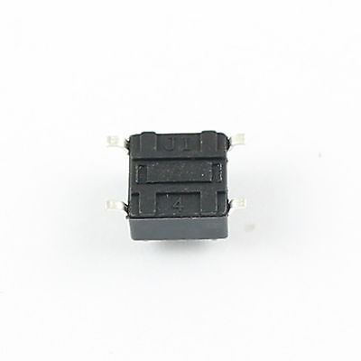 100Pcs Momentary Tactile Tact Push Button Switch 4 Pin SMD SMT 6x6x5mm High 5mm