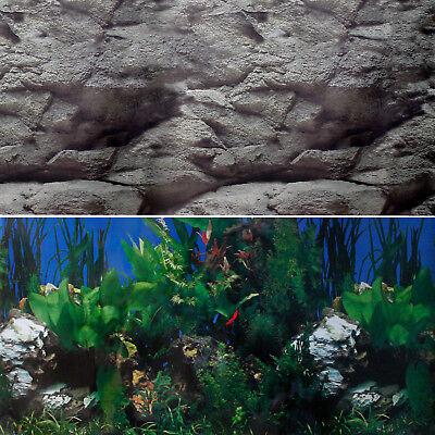 Aquarium à bords Noir avec Meuble de support Noir