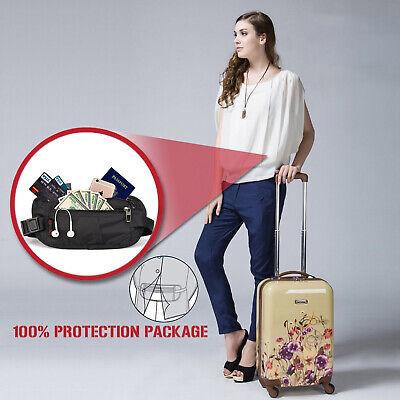 Slim Design Bumbag RFID Running Belt Water-proof Adjustable Waist Bag Travelling 2