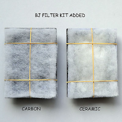 5 X Bj Filters Compatible Aqua Zone 28 - Carbon / Ceramic Kits  6 Months Supply 10