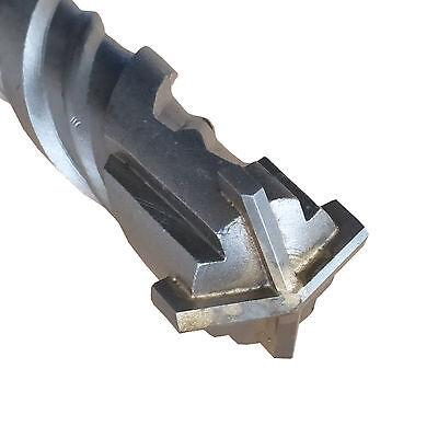 32 x 600 mm SDS Max Bohrer Steinbohrer Hammerbohrer Betonbohrer vierschneidig