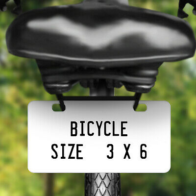 Personalized Custom License Plate Tag for California Auto Car Bicycle ATV Bike 5