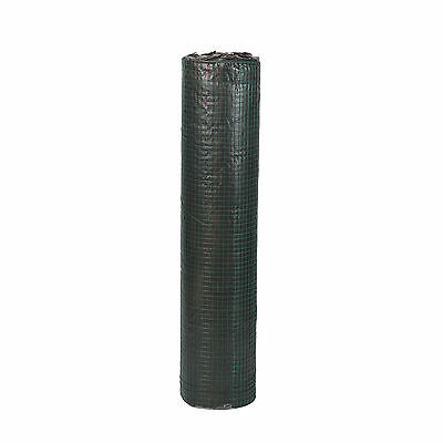 GREEN PVC COATED Chicken Wire Mesh 30M Fencing Garden Barrier Metal ...