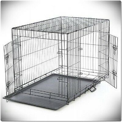 XXL Large Dog Crate Kennel Extra Huge Folding Pet Wire Cage Giant Breed Size 4