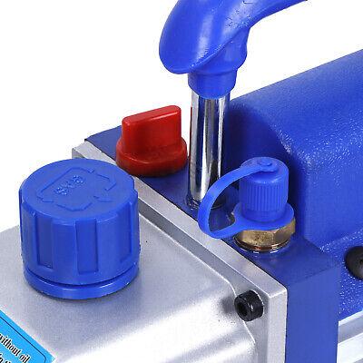 Rotary Vane Deep Vacuum Pump 1Stage 4 CFM 1/3HP HVAC AC Air Refrigerant Tool 4