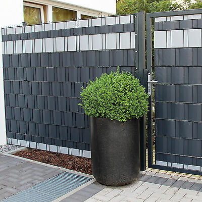65M Sichtschutzstreifen Gartenzaun Sichtschutzfolie Zaunfolie Windschutz Zaun