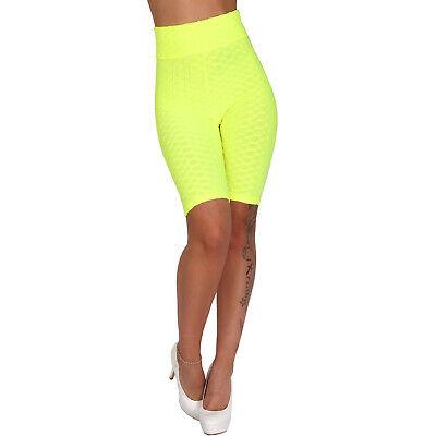 Radler Hose 3D Push Up Fitness Perfect Shape Leggings Gym Yoga Sport Jogging 541