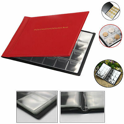 240 Coin Collection Album Money Storage Case Holder Coin Collecting Book UK 3