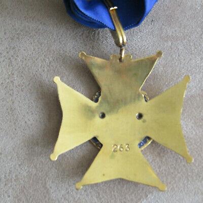 Medaille Commandeur Cie Des Mousquetaires D'armagnac French Medal Order 4