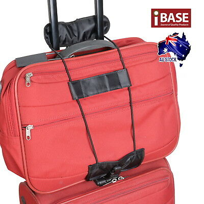 Travel Luggage Suitcase Adjustable Tape Belt Add A Bag Strap Carry On Bungee 3