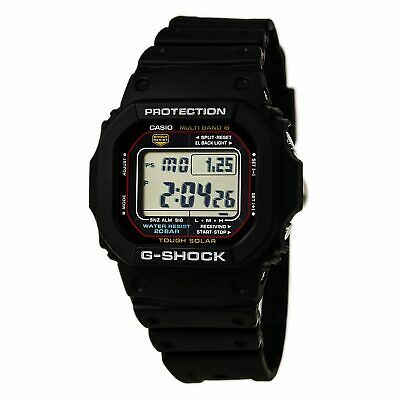 Casio Men's Watch G-Shock Multi-Band 6 Tough Solar Black Strap GWM5610-1 4