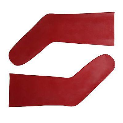 Latex Socken aus Rubber in rot, Einheitsgröße 5