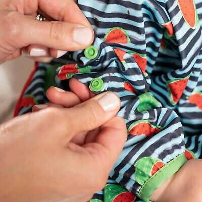 BIBaDO Catch it All, Cover All Full Cover Baby Led Weaning Bib 3