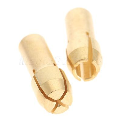 0.5mm-3.2mm Brass Collet Chuck 4.3mm Shank & Long M8 Keyless Drill Chuck Tool 6